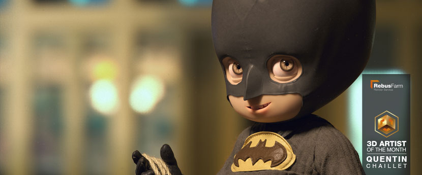 Character Design | 'Little Batman' | Quentin Chaillet