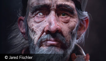 Jared Fischler old man 3D contest
