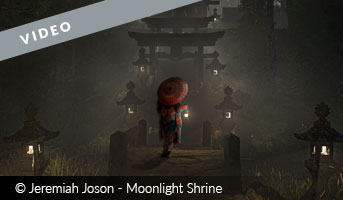 Moonlight Shrine by Jeremiah Joson