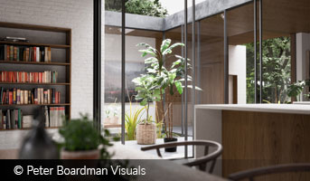 peter boardman visuals modern interior