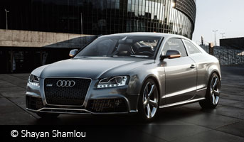 Audi RS5 by Shayan Shamlou